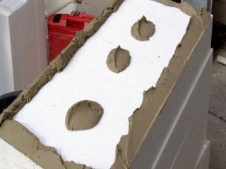 Пенопласт как материал для утепления.