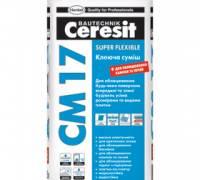 Клей для плитки Ceresit  CM 17 «Super flexible» 25 кг