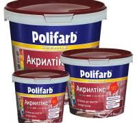 Моющаяся краска Polifarb АКРИЛТИКС для стен и потолка  4.2 кг