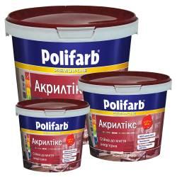 Моющаяся краска Polifarb АКРИЛТИКС для стен и потолка  1,4 кг