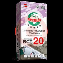 Штукатурная стартовая смесь ANSERGLOB BCT-20 25 кг