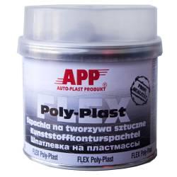 Шпаклевка для пластика авто APP FLEX POLY-PLAST 0,6 кг