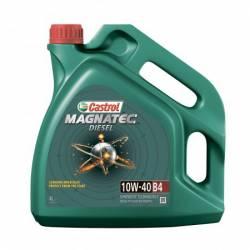 Моторное масло полусинтетическое Castrol Magnatec Diesel 10w-40 B4 4л