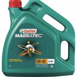 Моторное масло синтетическое CASTROL MAGNATEC 5W-40 A3/B4 4л