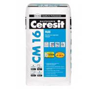 Ceresit CM 16 Easyflex смесь эластичная клеящая 25кг