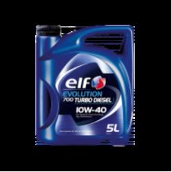 Моторное масло  полусинтетическое ELF EVOLUTION 700 TURBO DIESEL 10W-40 5л