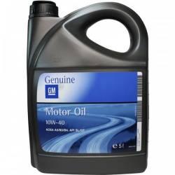 Полусинтетическое моторное масло GM 10w40 5л