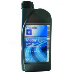 Полусинтетическое моторное масло GM 10w40 1л