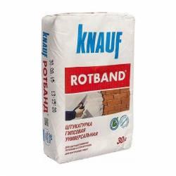 Штукатурка Knauf Rotband гипсовая белая 30 кг