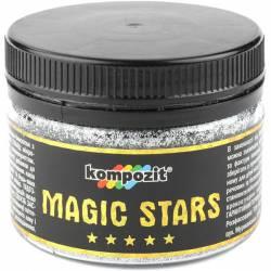 Декоративные глиттеры MAGIC STARS Kompozit бриллиант 60 г