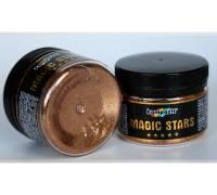 Декоративные глиттеры блестки MAGIC STARS Kompozit бронза 60 г