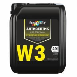 антисептик Kompozit W3 Трудновымываемый  1л