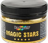 Декоративные глиттеры блестки MAGIC STARS Kompozit Золото 60 г
