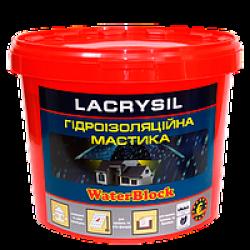 Мастика Lacrysil для гидроизоляции кровли и фундамента  4,5 кг