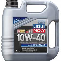 Моторное полусинтетическое  масло LIQUI MOLY MoS2 10w 40 4 л