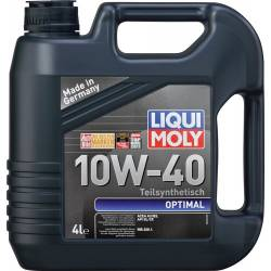 Моторное полусинтетическое масло LIQUI MOLY OPTIMAL 10w 40 4л