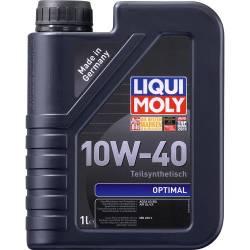 Моторное полусинтетическое масло LIQUI MOLY OPTIMAL 10w 40 1л