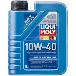 Моторное полусинтетическое масло LIQUI MOLY SUPER LEICHTLAUF 10w40 1л