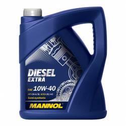Полусинтетическое моторное масло MANNOL Diesel Extra 10W-40 5л