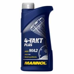Моторное масло MANNOL четырехтактное PLUS  10W-40 1л