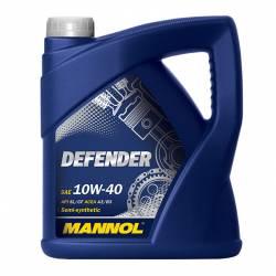 Полусинтетическое моторное масло MANNOL Defender 10W-40 4л