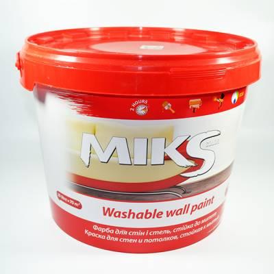Краска MIKS для стен и потолка