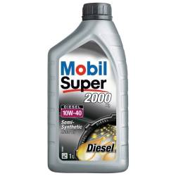 Моторное масло полусинтетическое Mobil Super 2000 X1 10W-40 1л