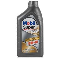 Моторное масло синтетическое Mobil Super 3000 XE 5W-40 1л