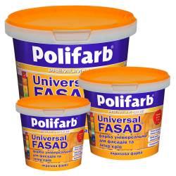Краска фасадная Polifarb  1.4 кг