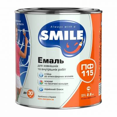 Эмаль SMILE ПФ-115