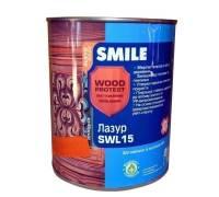 Лазурь SMILE  SWL-15 тик 0.75 л