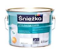 Краска Sniezka для радиаторов акриловая 2.5 л