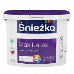 Краска SNIEZKA  MAX LATEX латексная 10 л