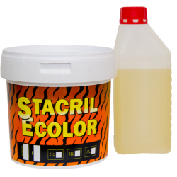 Жидкий акрил для ванн 120 см Stacril Ecolor 2,7 кг