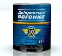 Эмаль ПФ-133 Днепровская Вагонка Глянцевая алкидная черный глянец 2.5 л