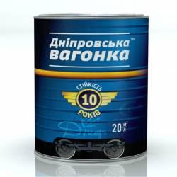 Эмаль ПФ-133 Днепровская Вагонка Глянцевая алкидная белая 2,5л