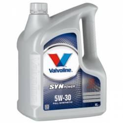 Моторное масло синтетическое Valvoline SynPower 5W-30  4л