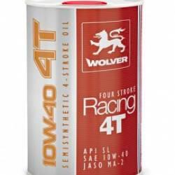 Масло  четырехтактное Wolver RACING 4Т 10w-40 1л