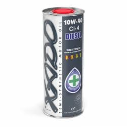 Моторное масло полусинтетическое XADO 10w40 CI-4 Diesel 1л