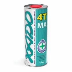 Масло Xado четырехтактное 10w-40 синтетикое 4T MA 1л
